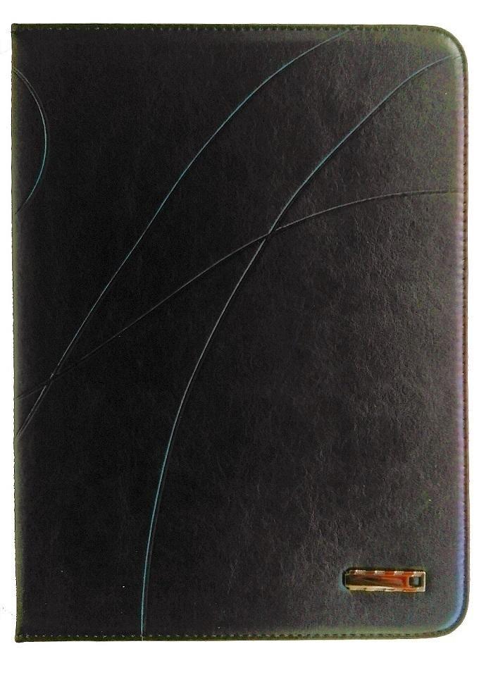 Samsung Galaxy Tab 4 10.1 Leather Case - Black