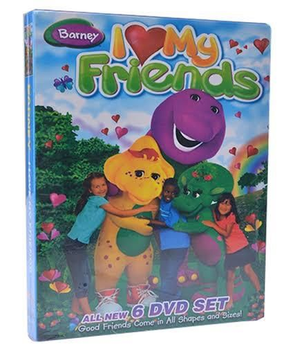 Barney I Love My Friends - Pack Of 6