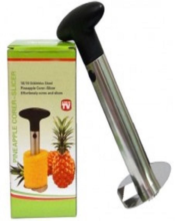 3 in 1 Pineapple Peeler- Silver