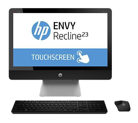 ENVY Recline 23-k011 TouchSmart (8GB,1TB HDD + 16GB SSD) All-in-One 23-Inch Windows 8 Desktop