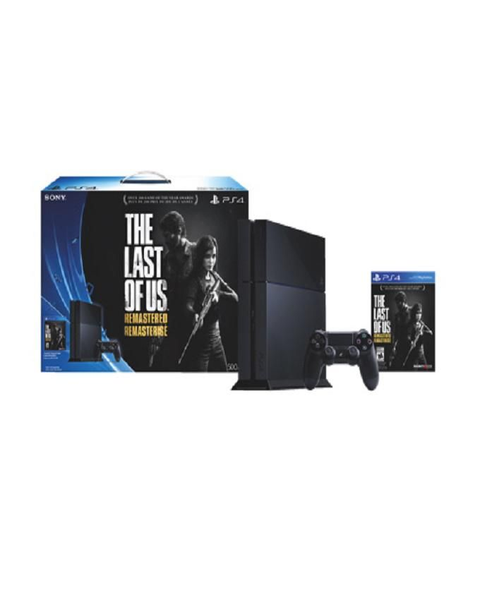 500GB Console : The Last Of Us Remastered - PS4