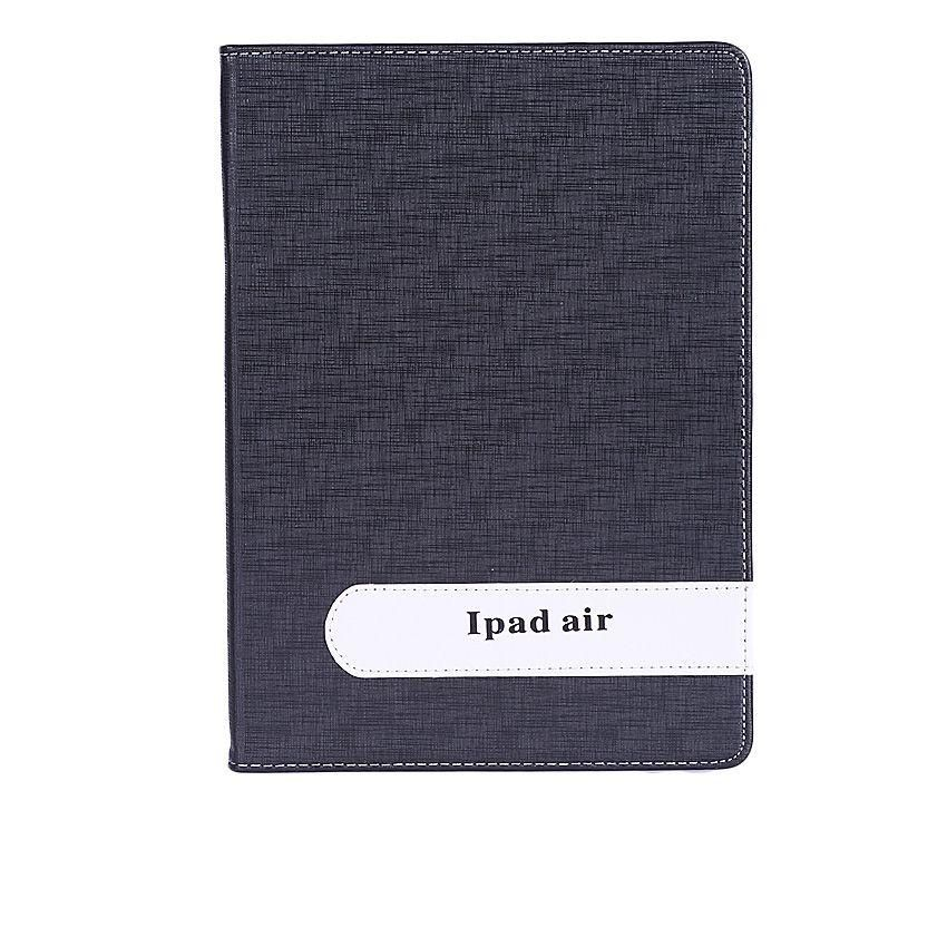 Leather Case For Apple iPad Air - Black