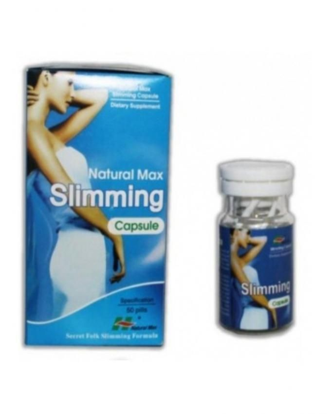 Natural Max Slimming Capsule- Dietary Supplement for ...