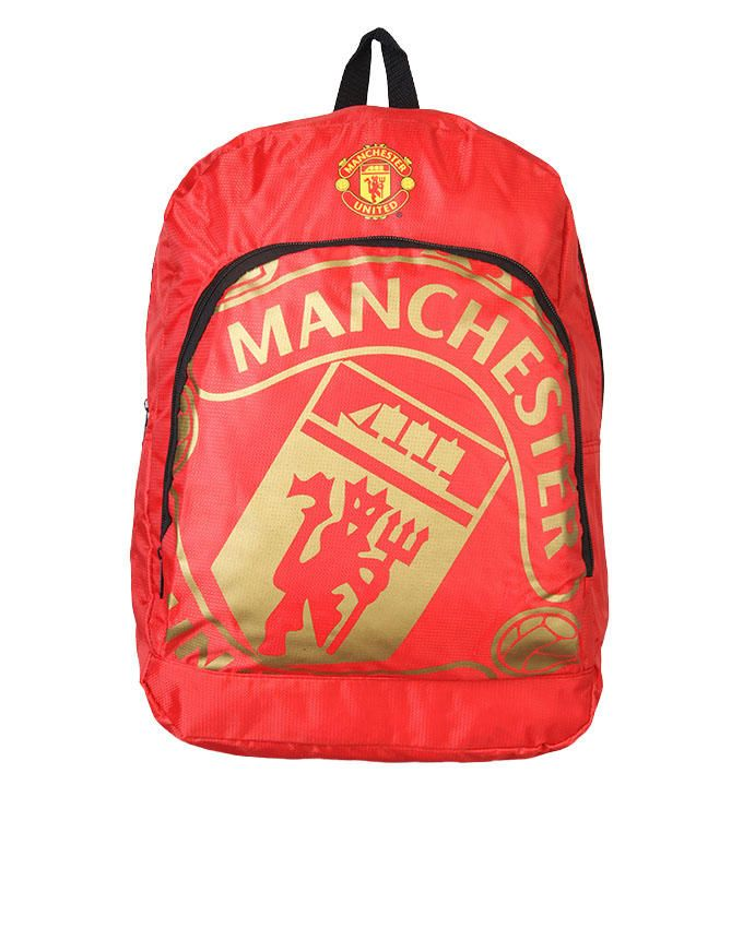 Machester United Football Club Backpack - Red