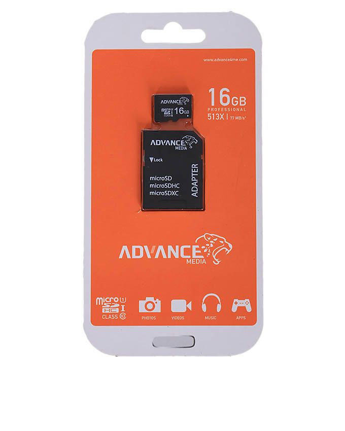 16GB Micro SDHC with Adapter