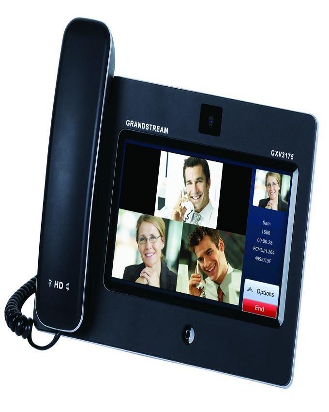 IP Multimedia Video Phone  GXV3175 - Black