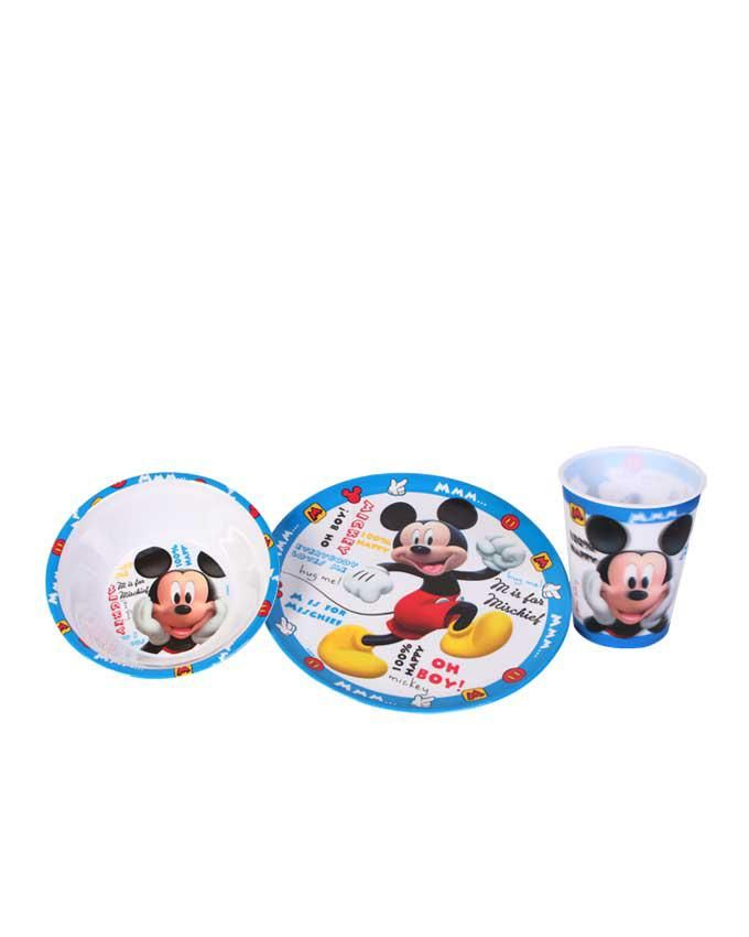 Toddler Feeding Plate Set - Mickey Mouse Character