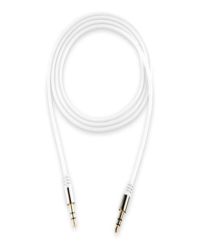 Auxiliary Audio Cable - White