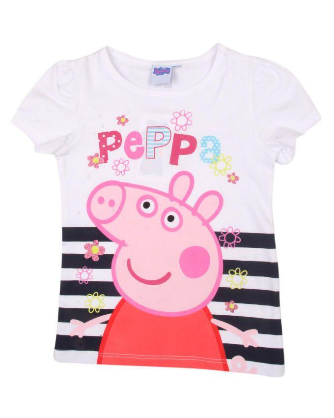 Peppa Big T-shirt - White