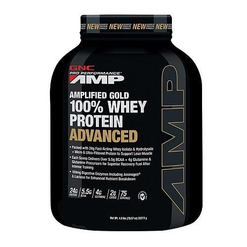 Pro Performance AMP Amplified Gold 100% Whey Protein Advanced - Double Rich Chocolate