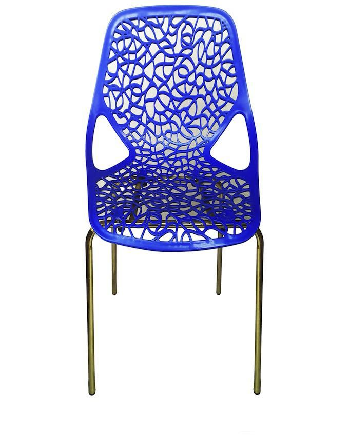 Crystal Chair Blue
