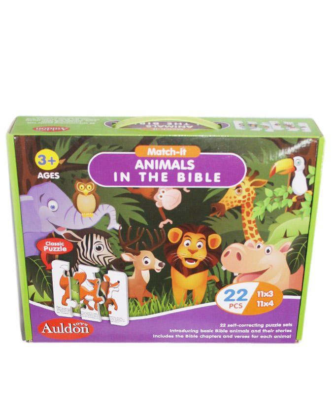 Animals in the Bible Puzzles - Multi