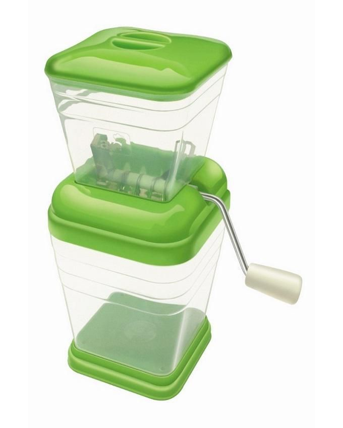 Stylish Onion And Vegetable Chopper - Green