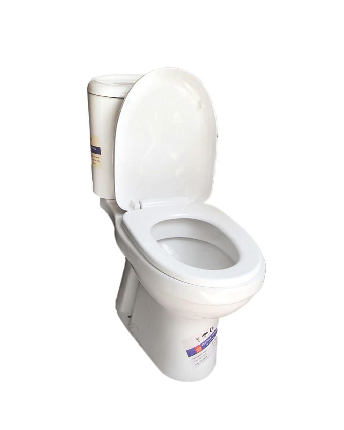 Sweet Home Toilet Seat With Top Flush System-White