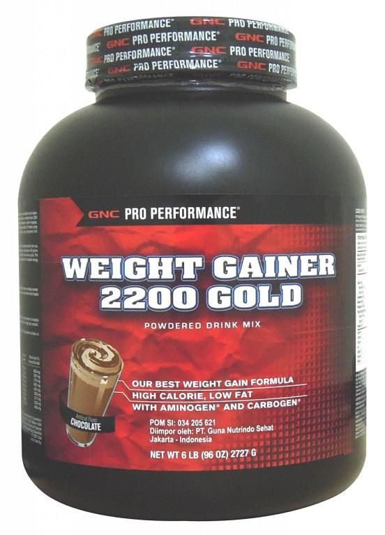 Pro Performance Weight Gainer 2200 Gold Powdered Drink Mix Chocolate