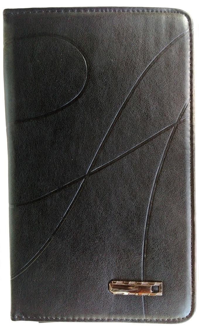 Galaxy Tab 4 (7.0inch) Leather Flip Case- Black