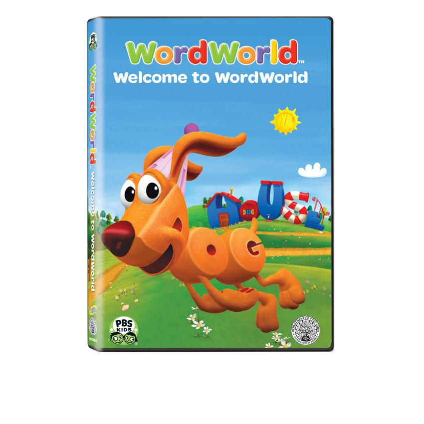 WordWorld: Where Words Come Alive - 4 DVD Set