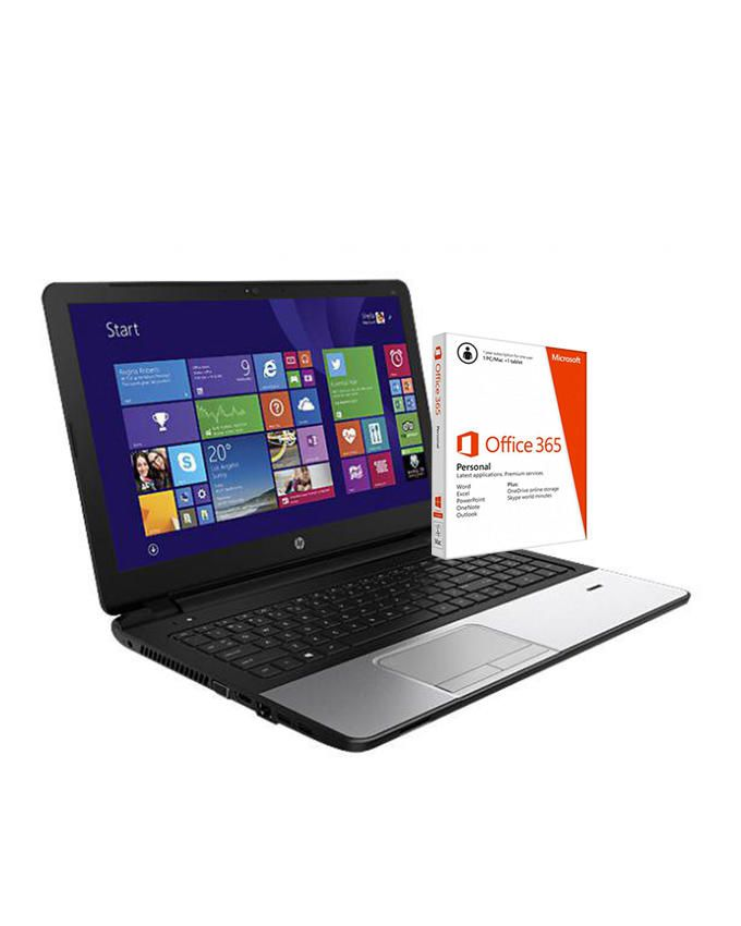 350 G2 Intel Core i3-1.9GHz (4GB,500GB HDD) 15.6-Inch Windows 8 Laptop And Microsoft Office 365 Personal