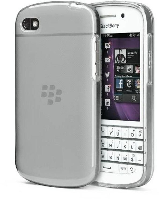 Super Slim Soft TPU Silicon Clear Case For Blackberry Q10