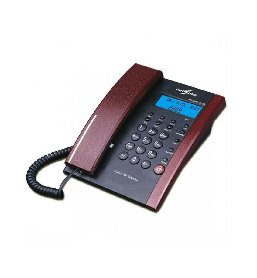 399(52)P/TSDL Office Display Table Phone - Red