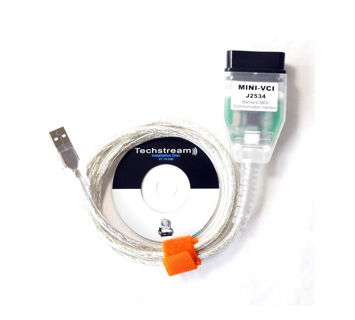 Original MINI VCI TOYOTA TIS Techstream Diagnostic Software