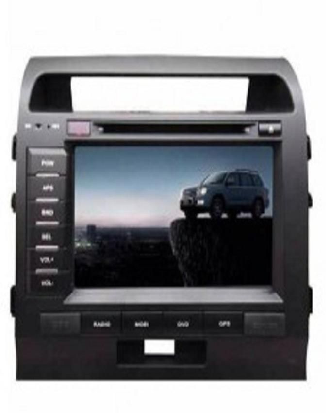 Toyota Lancruiser 2 Din DVD Player