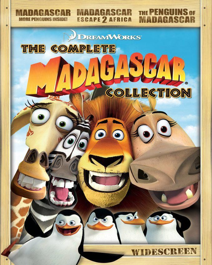 The Complete Madagascar Collection DVD