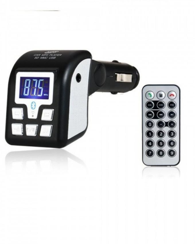 Car MP3 With 4GB In Built Memory - Black