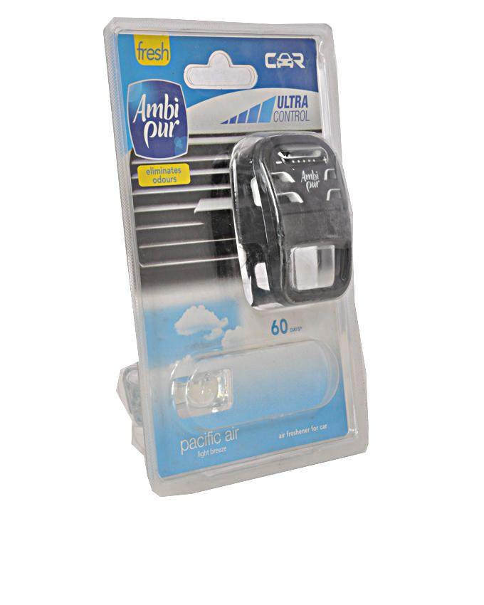 Car Air Freshener Case - Pacific Air Scent + Refill