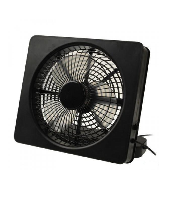 Energy Saving USB and Battery Powered Mini Fan- Black