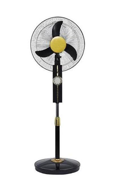 16 Rechargeable Fan FGSF16-RCF - Black