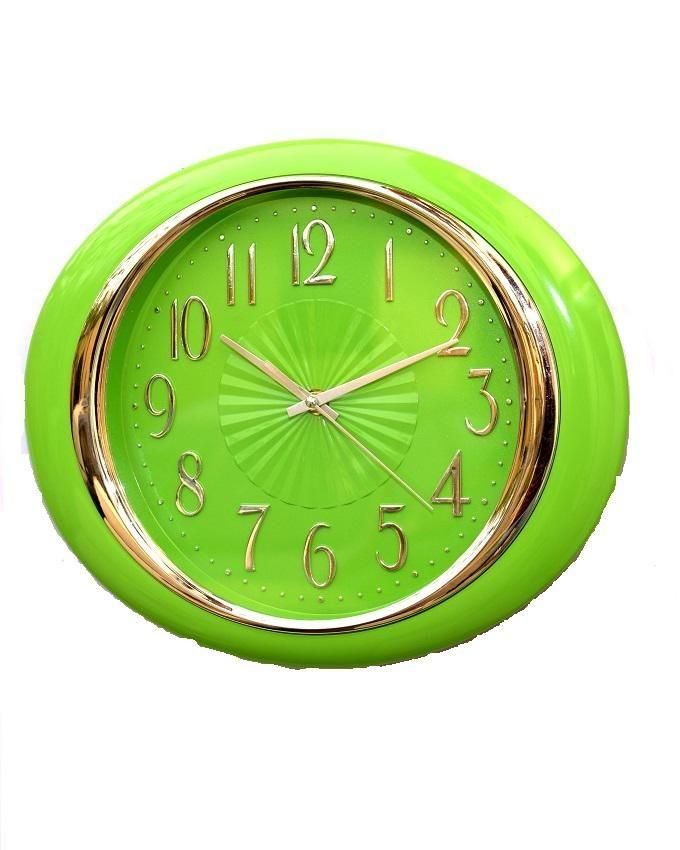 Spherical Wall Clock - Green