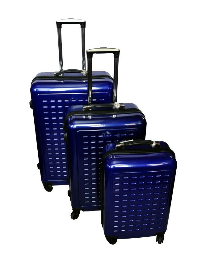 3-Piece Holiday Mate Suitcases - Blue