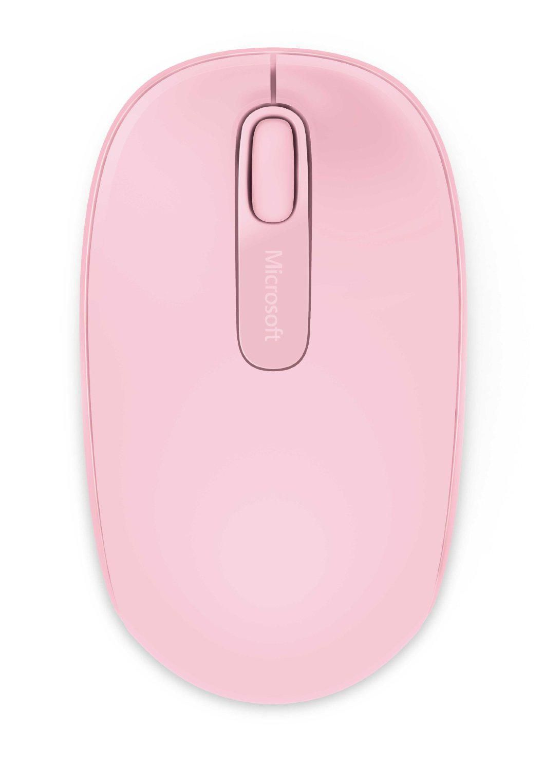 Wireless Mobile Mouse 1850 - Pink