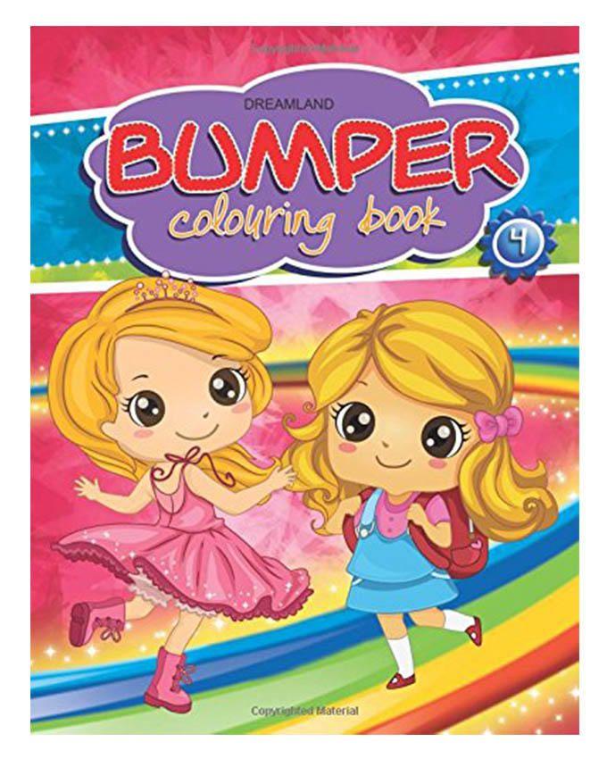 Bumper Colouring Book-4