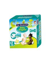 Wemy Industries Limited Dr. Brown's Impo Maxi Diaper