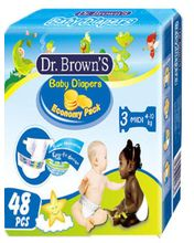 Wemy Industries Limited Dr. Brown's Eco. Maxi Diaper