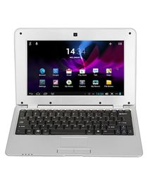 """1088A - 10.1"""" Notebook (Android 4.4 1.5GHz WIFI Camera 1GB, 8GB) - Silver"""