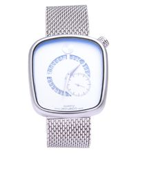 movado outlet watches 3dug  Movado Mesh Chain Swiss Wrist Watch -Silver