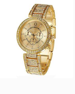 Universal Golden Womens Wristwatch