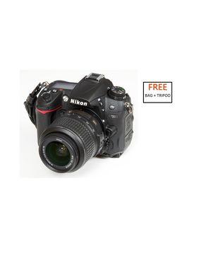 Nikon D7000 (18-55) VRII Camera Kit + Free SLR Bag, T-Shirt, Camera Strap, 52MM UV Filter, Nikon School Voucher and Tripod