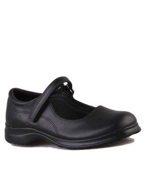 Smart Fit Girls School Shoes- Black