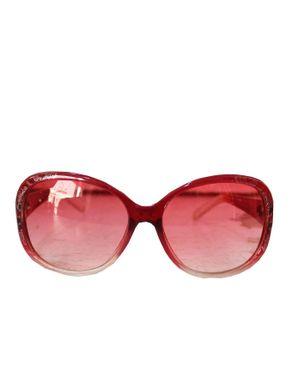 Fashion Round Face Unisex Sunglasses-Pink