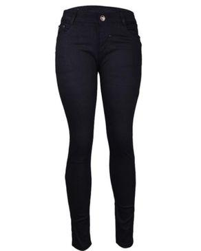 Fashion Straight Leg jeans -Black