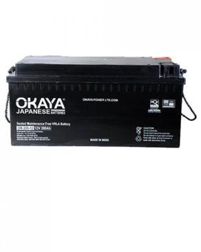 OKAYA (Reduced Shipping Fee) 12V - 200Ah SMF Deep Cycle VRLA Inverter Battery