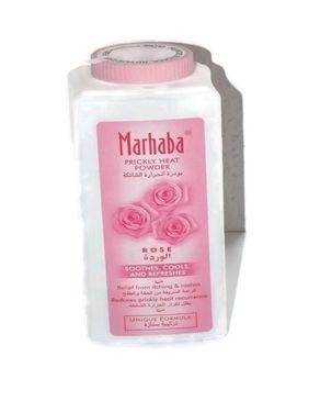 Marhaba Marhaba Prickly Heat Powder - Rose - 200gms