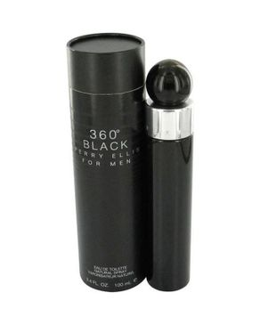 Perry Ellis Mens 360 Black EDT 100ml