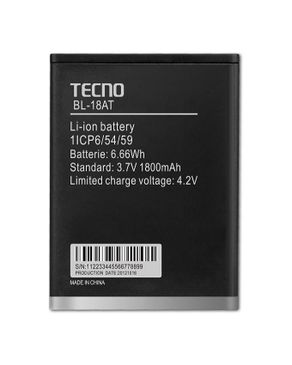 Tecno BL-18AT Replacement Battery