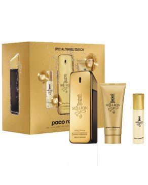 Paco Rabanne One Million 3pc Gift Set For Him
