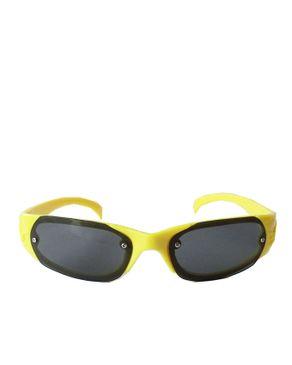 Fashion Dark Shade Unisex Sunglasses-Yellow